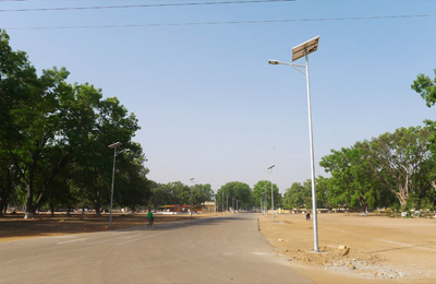 African Chad Solar Street Light
